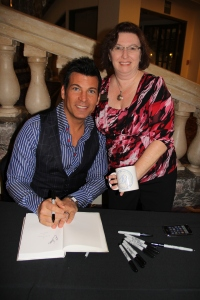 David Tutera with Elise Enloe